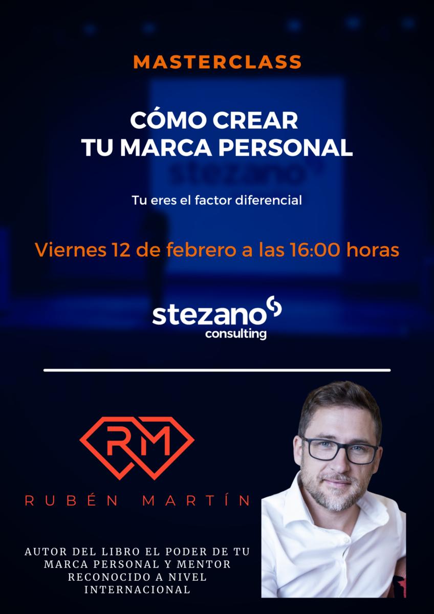 En este momento estás viendo Como crear tu marca personal con Rubén Martín.