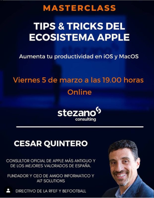 EVENTO EXCLUSIVO COMUNIDAD STEZANO CONSULTING